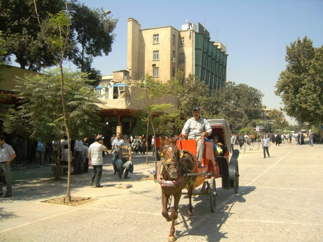 Пешеходные зоны в центре Тегерана
