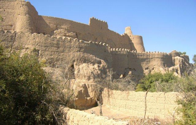 Крепость Нарын в иранском городе Мейбод