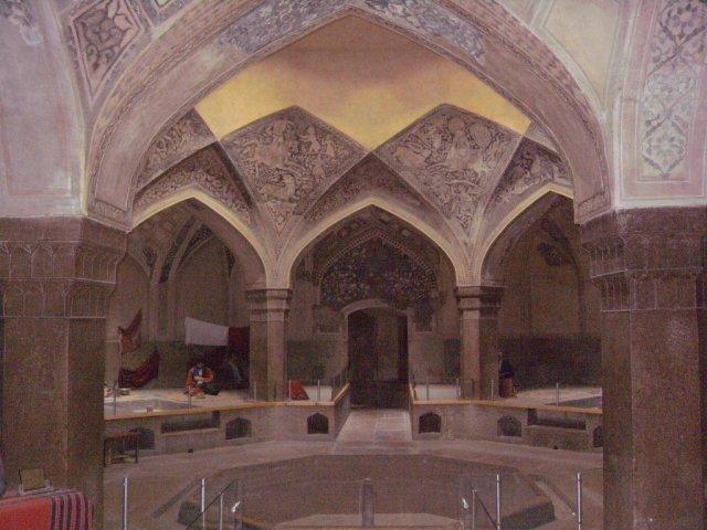 Реставрированная и превращенная в музей общественная баня (хаммам) Вакил в городе Шираз