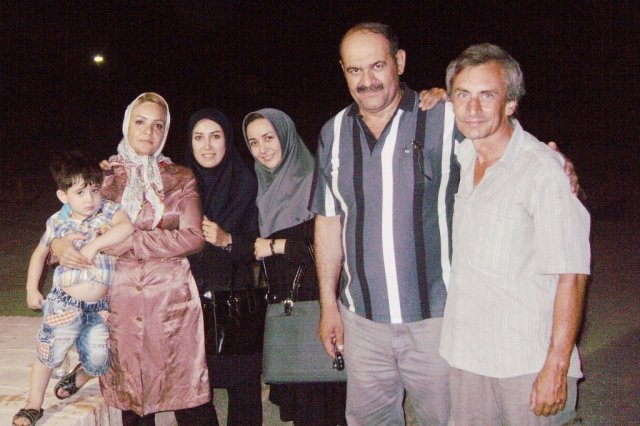 Родственники Хамида, с которыми подружился в этот вечер