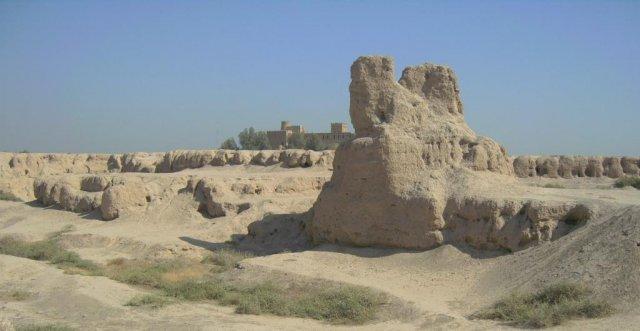 Останки древней Сузы - столица Элама