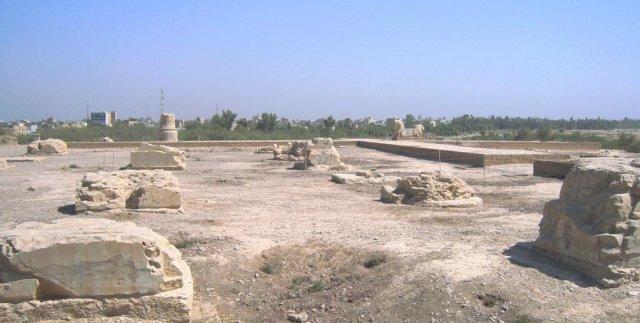 Руины дворца Дария I Великого