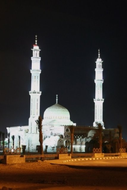 Центральная мечеть в Шарм-эль-Шейхе