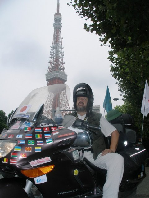 Япония. Токио. Байкер Петрухин.