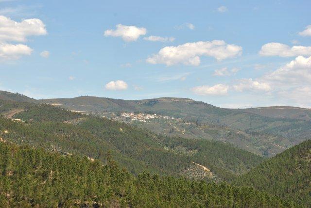 Вид из Алвару.