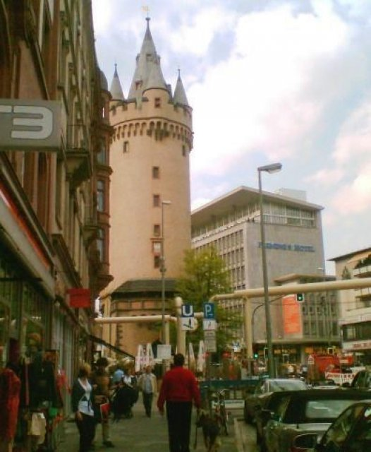 Франкфурт-на-Майне, Эшенхаймертурм