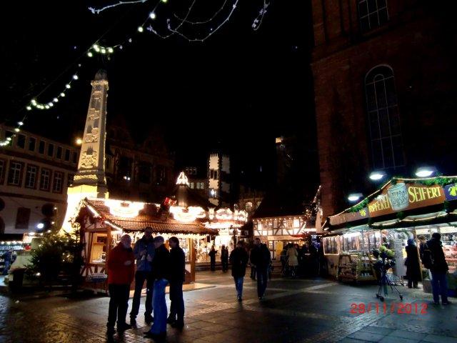 Рождественская ярмарка во Франкфурте-на-Майне