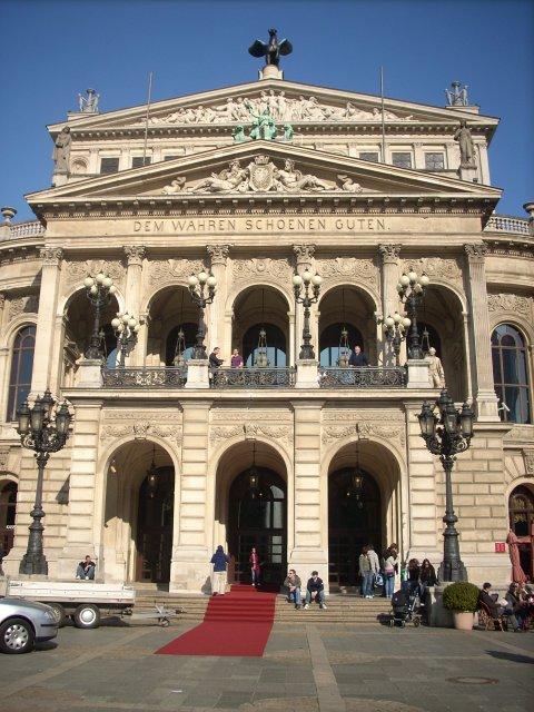 Франкфурт-на-Майне, здание старой оперы