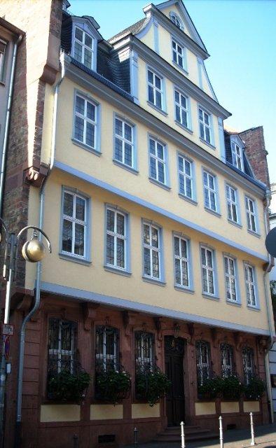 Франкфурт-на-Майне, дом-музей Гёте