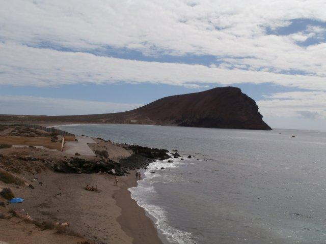 """""""Дикий"""" пляж Ла Техита на юге Тенерифе"""