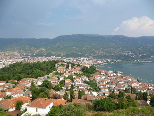 Вид на город с крепости Самуила