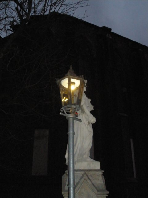Газоаве фонари Тумского острова
