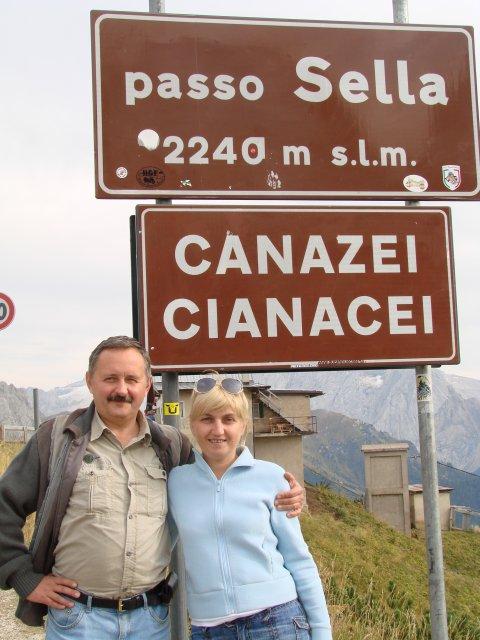 Перевал Passo Sella