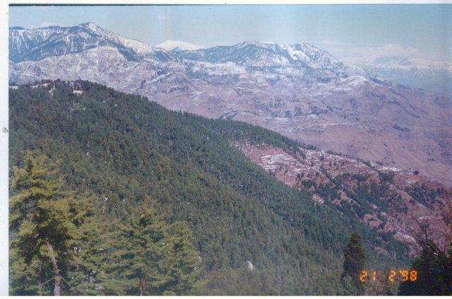Вид на Кашмир