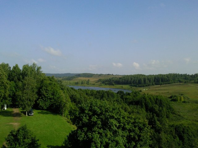 Вид с башни Куковка