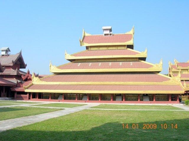 Королевский Дворец Миндалая, Мьянма