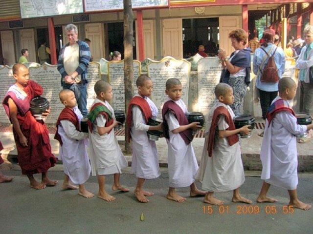Монастырь Махаганайон, Мьянма