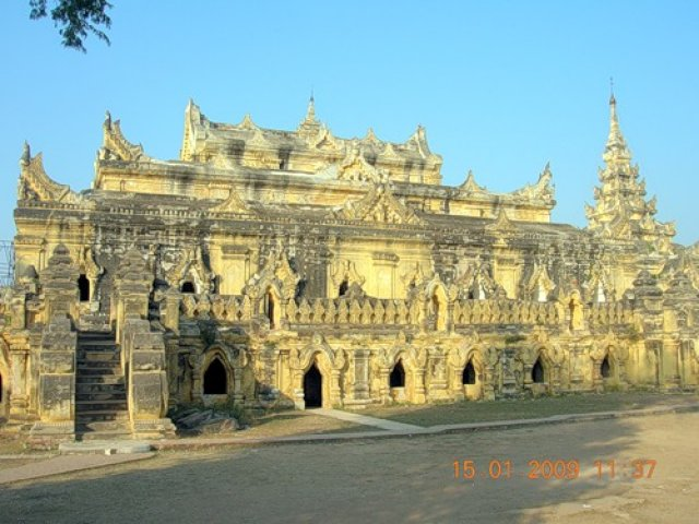 Монастырь на острове Инва, Мьянма