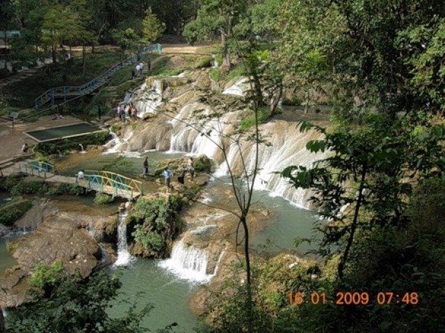 Водопад Пвэкау, Мьянма
