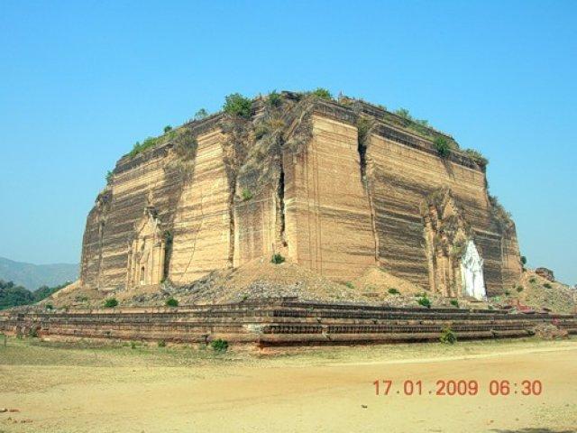 Незаконченная пагода, Мьянма