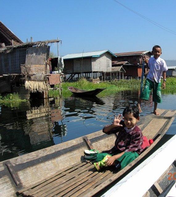 Экскурсия по озеру, Мьянма