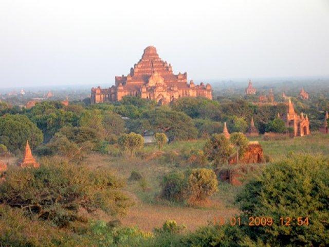 Город пяти тысяч пагод, Мьянма