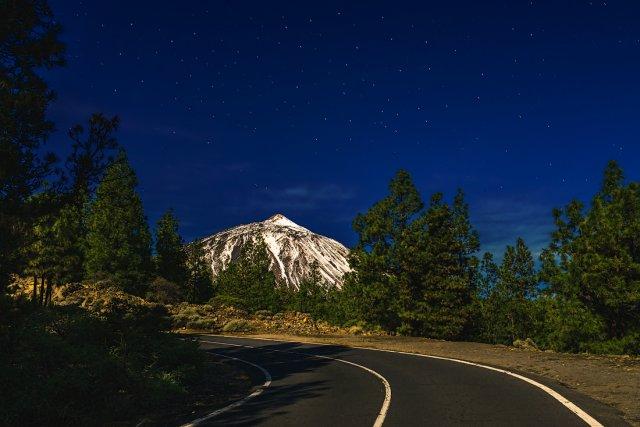 По дороге к вулкану Тейде