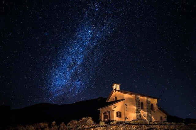 Ночь в горах Тенерифе