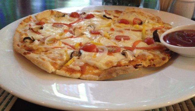 Очень много различных видов пиццы