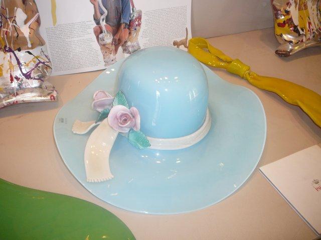 Чудненькая стеклянная шляпка