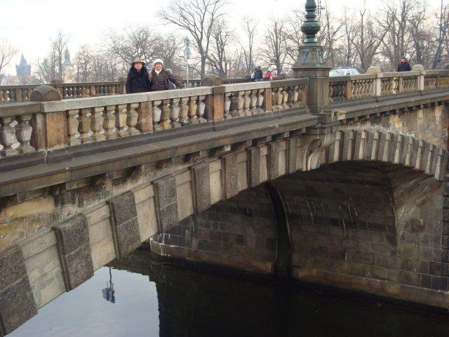 мои подруги на мосту Легии