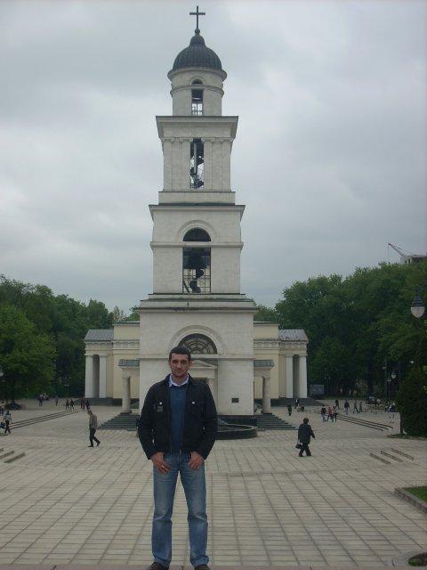 Колокольня Храма в Кишиневе, Молдова