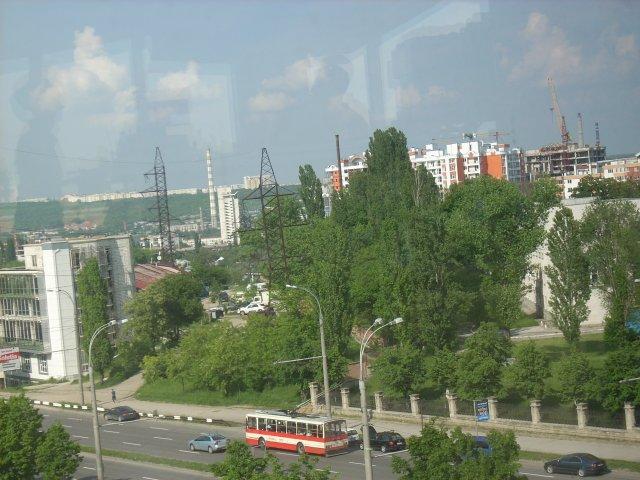 Вид на Кишинев, Молдова