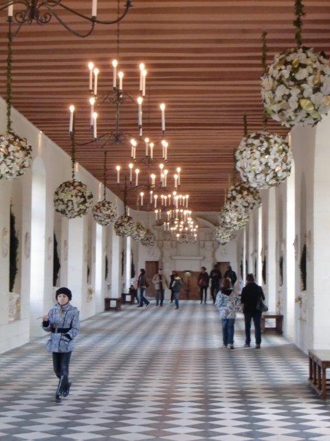 Галерея в замке Шенонсо