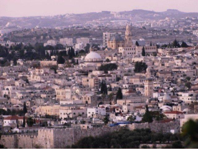 Иерусалим на рассвете