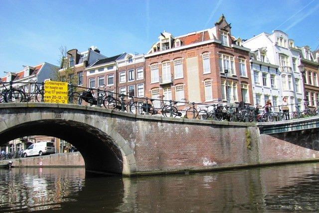 Один из каналов Амстердама