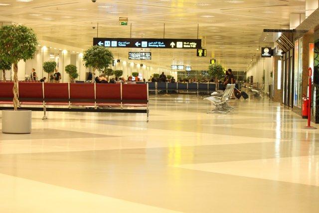 Зал ожидания Доха