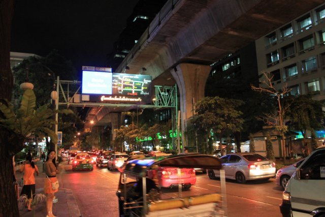 Вечерний Бангкок