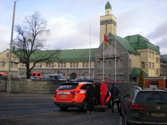 Центральная пожарная станция.