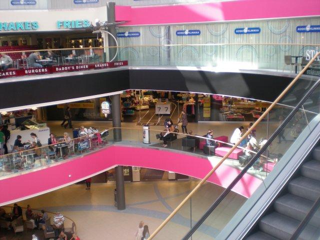 В торговой центре Коскикескус