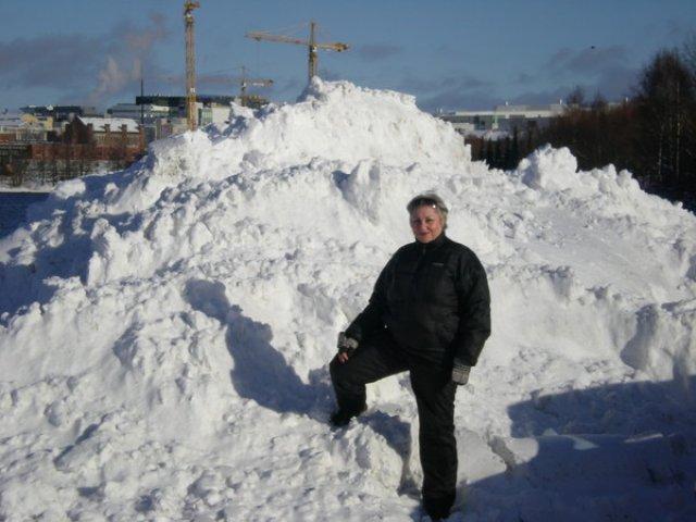А порой снега очень-очень много!