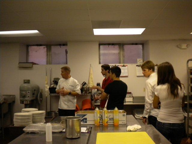Посещение кухни ресторана, Чикаго, США