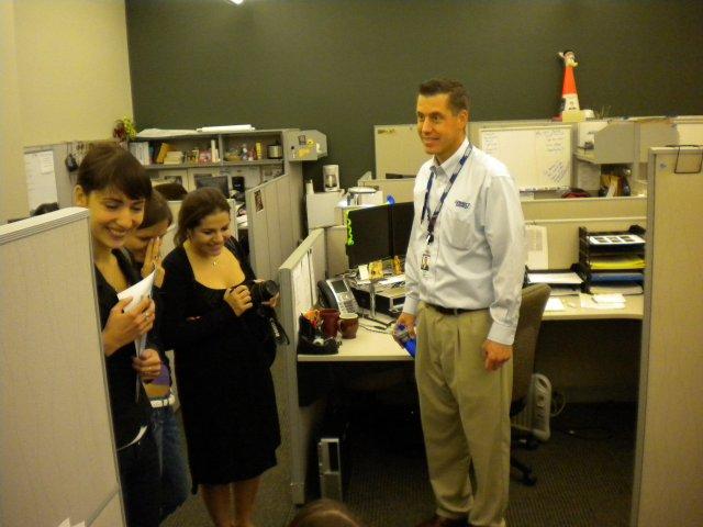 Посещение завода медицинского оборудования, Чикаго, США