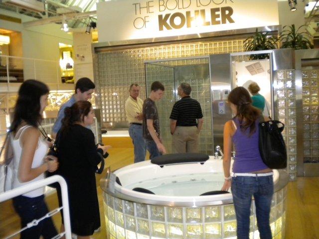 """Посещение завода 'Kohler"""", США"""
