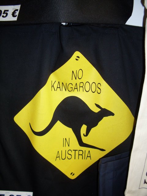 Ну нет кенгуру в Австрии!
