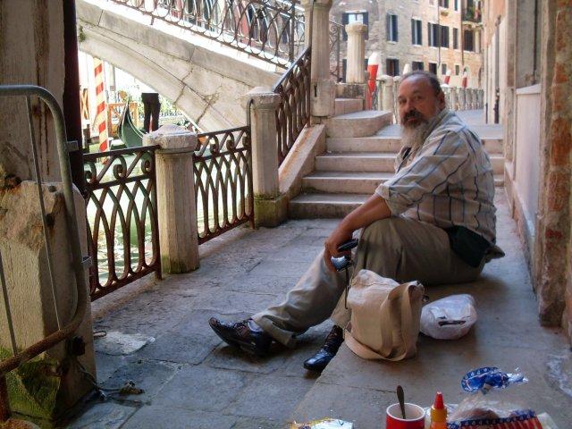 Завтрак руссо туристо в Венеции