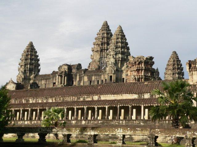 Чудесный храм Ангкор-Ват, Камбоджа