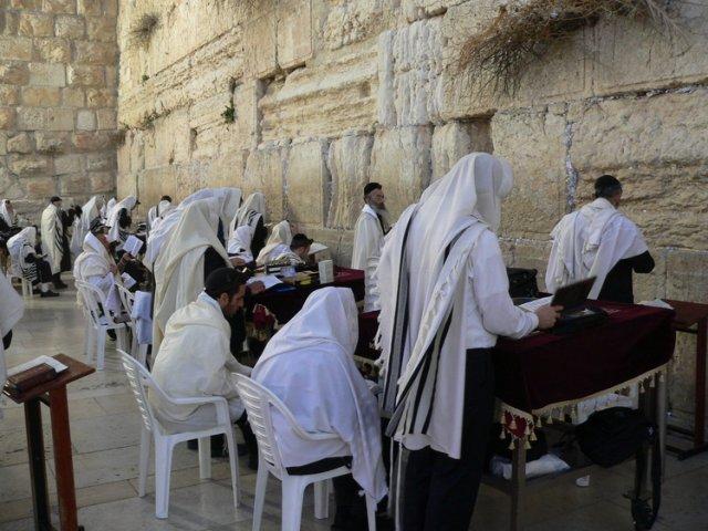 Стена Плача в Иерусалиме, Израиль