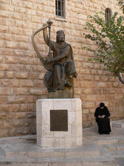 Статуя Давида, Иерусалим, Израиль
