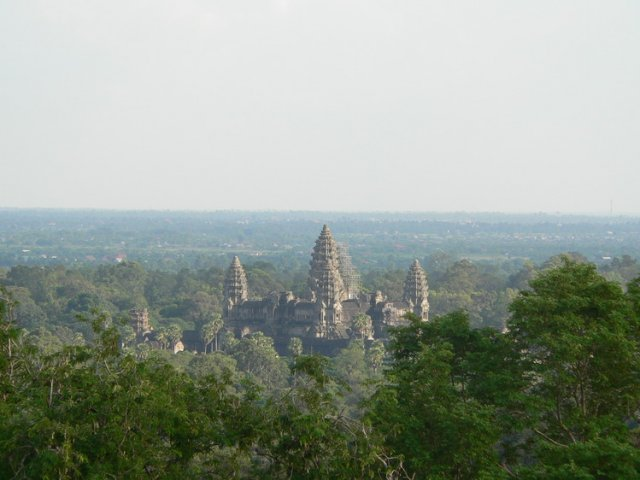 Очарование древнего храма Ангкор-Ват, Камбоджа